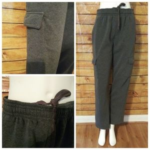 Cool Gray Drawstring Sweatpants